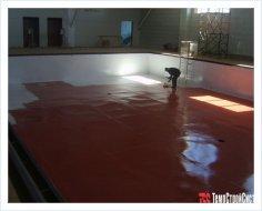 Гидроизоляция бассейнов и резервуаров внутри помещения